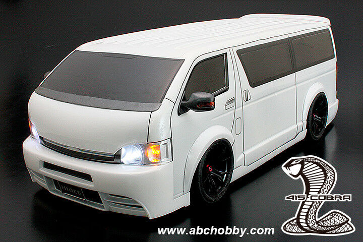 ABC-HOBBY 66168 1 10 TOYOTA HIACE van (415 COBRA STAGE II)