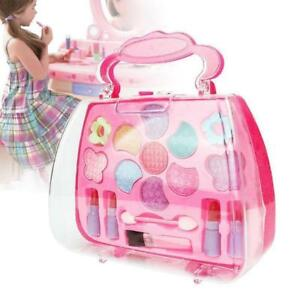 NEW Kids Girl Makeup Set Eco-friendly Cosmetic Pretend Play Princess Toy Gift AU