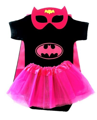 Superhero baby bodysuits supergirl batgirl marvel baby cosplay outfit costume