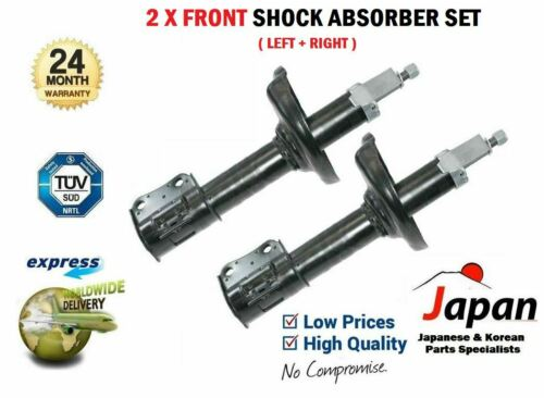 4WD 2001--/>ON 2X FRONT LEFT RIGHT SHOCK ABSORBER SET FOR SUZUKI LIANA 1.3 1.6