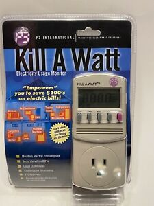 P3-KILL-A-WATT-Power-Usage-Voltage-Meter-Monitor-P4400-NEW