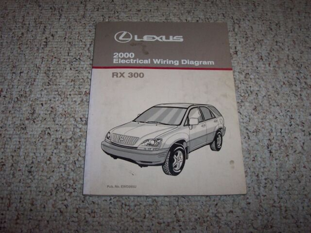 2000 Lexus Rx300 Rx 300 Factory Original Electrical Wiring