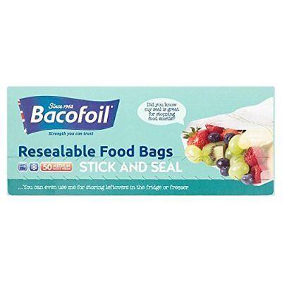 Costruttivo Bacofoil Baco Baco Press & Seal Sandwich Sacchetti 50s-