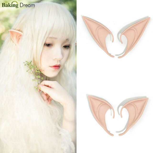 The Hobbit Latex Elf Ears Cosplay Party Props Creative Gift Halloween Costume