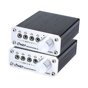 2pcs-Digital-4-In-4-Out-3-5mm-Mp3-Audio-Signal-Switcher-for-Headphone-w-4-Cable