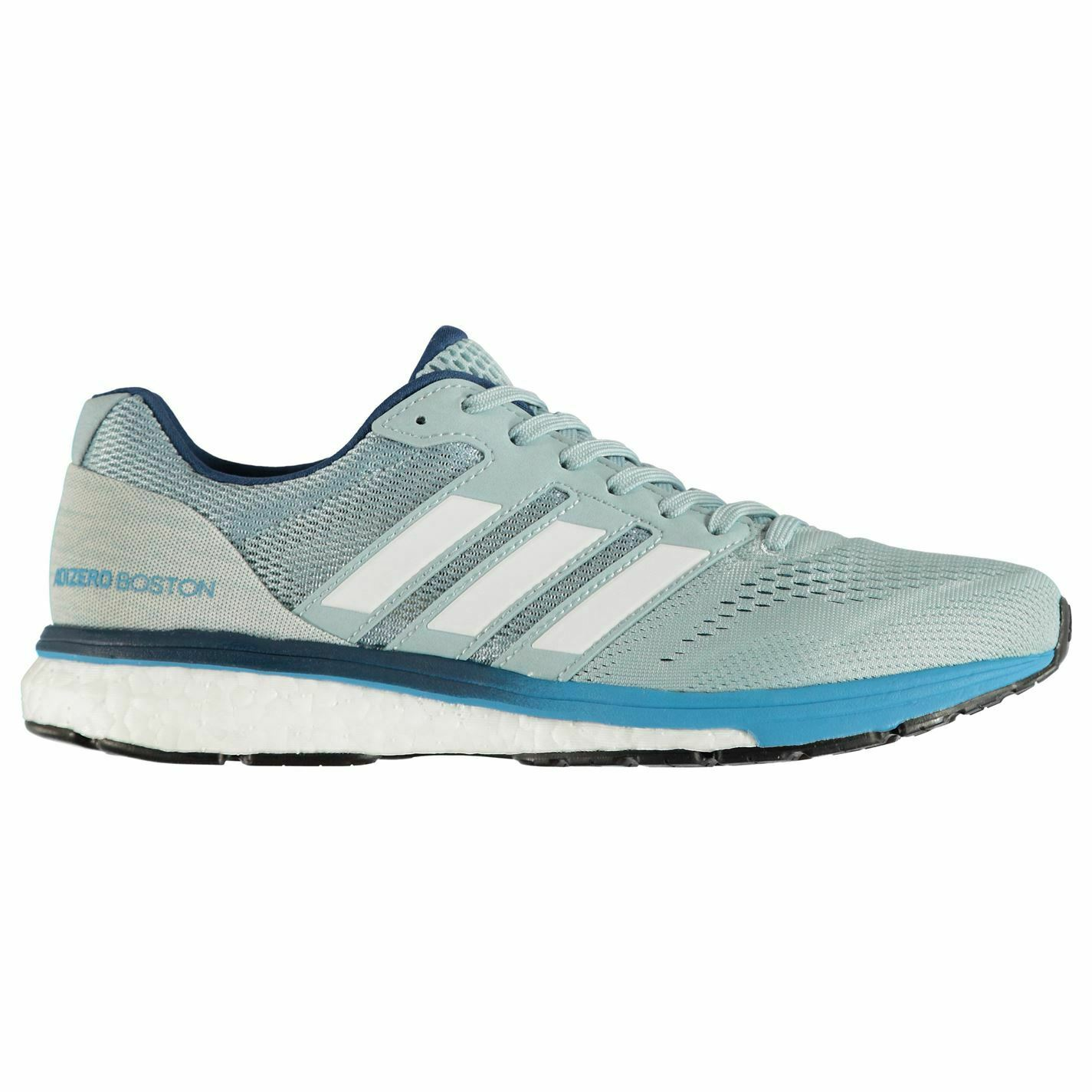Adidas Mens  adizero Boston 7 Running shoes Road Breathable Lightweight Mesh  in stadium promotions