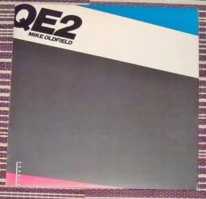 Mike-Oldfield-QE2-33-Rpm-Lp-de-vinilo-disco-Virgen-2181-1980