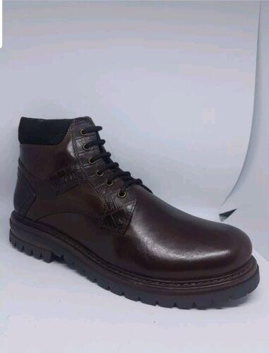 43 Taglia Deichmann Company marrone ov Shoe pelle Stivali 41 in Uomo Am Nuovo 8qwZ6r8xv