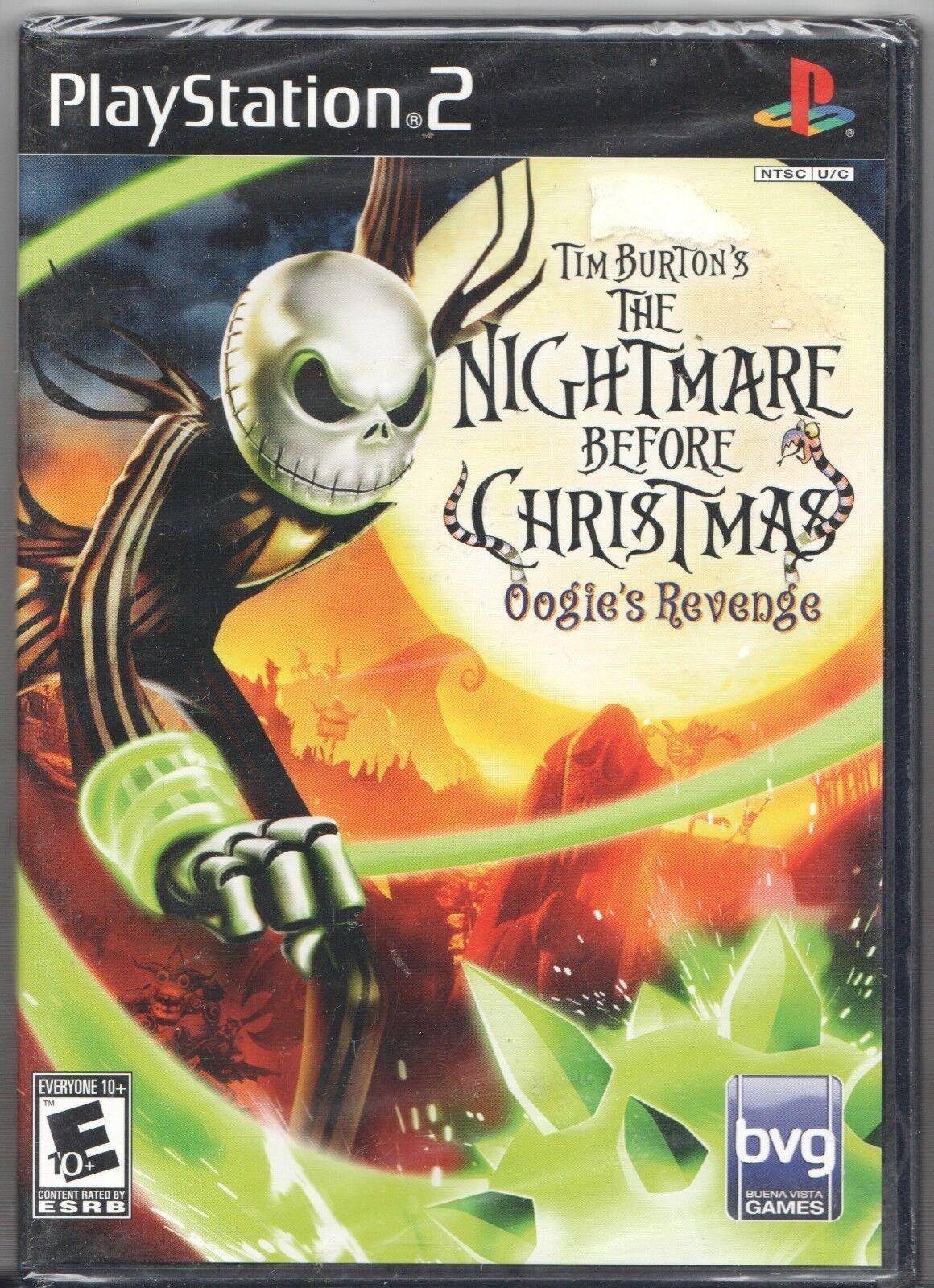 Tim Burton\'s The Nightmare Before Christmas: Oogie\'s Revenge (Sony ...
