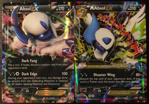 M Absol EX XY63 Near Mint! Pokemon XY Black Star Promo Absol EX XY62