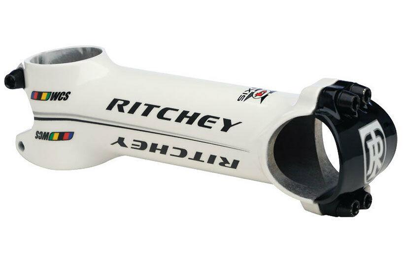 Tige de Guidon Vélo de Course Ritchey Wcs Weiß Vélo Tige Wet Weiß 31,8 90-120