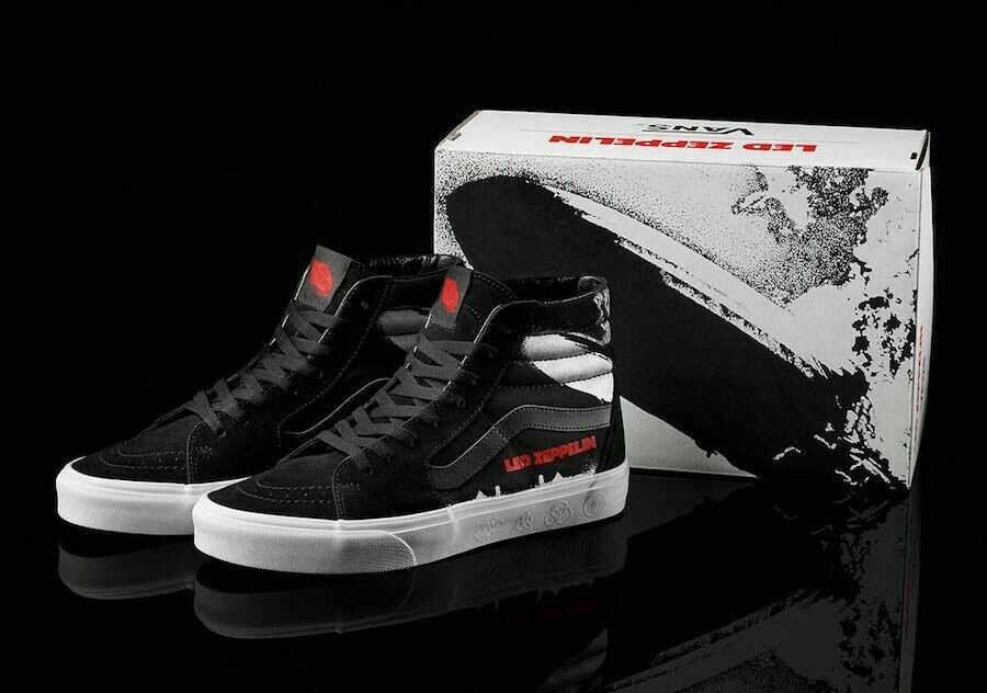 Vans X Led Zeppelin-50th Anniversary SK8-Hi-Limited Edition-US Men's Size 9-New