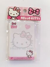 HELLO KITTY KAWAII CUTE NOTEPAD CARTOON PLANNER MEMOPAD SMALL 50 SHEETS # NO.4