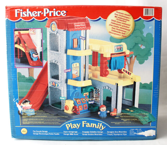 Tested Fisher Little People Garage Sounds 72693 Car Wash Ramp ...