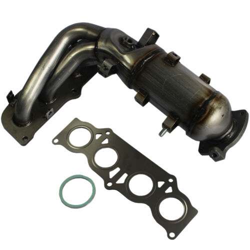 with Catalytic Converter Exhaust Manifold  for Toyota Camry Solara 2.4L 02-06