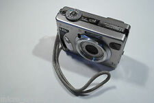 Vintage Sony DSC-W5 LCD screen 5Mpx + Memory Stick pro duo adaptor and 1gb card