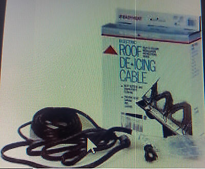 EASY HEAT ELECTRIC ROOF /& GUTTER DE-ICING CABLE ADKS 300 60 FEET CABLE ft -