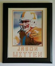 8c8af85e6 ... Signed Autographed 8x10 Framed 11x14 Tennessee Volunteers JSA. $189.99.  +$15.00 shipping. Jason Witten Dallas Cowboys Framed 15x17 Collage & Piece  of ...