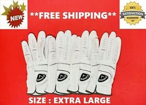 BRAND-NEW-Genuine-CALLAWAY-Men-s-LEFT-HAND-Breathable-GOLF-GLOVE-XL-4-Pack