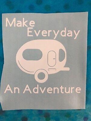 Adventurer Car RV Sticker Skin Decal Sticker Vinyl