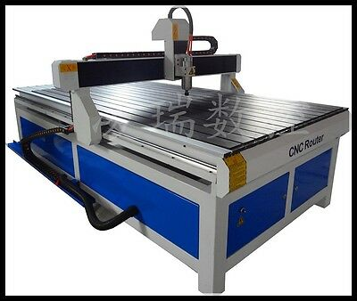 """New 1224 CNC Router Engraver Machine 2.2kw Motor 48""""x96""""x6"""" WorkSize Ship by Sea"""