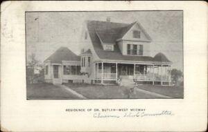 West-Medway-MA-Dr-Butler-Residence-c1910-Postcard