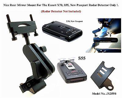 Nice Car Rear Mirror For The Escort X70, X80, RX65 New Passport Radar Detectors