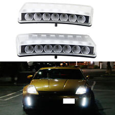 For 03-05 Nissan 350Z LED DRL Daytime Running Light Switchback Bumper Reflector