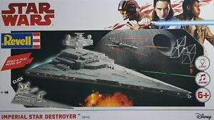 Revell-Star-Wars-The-Last-Jedi-New-Plastic-Model-Kit-Build-amp-Play-Light-amp-Sound