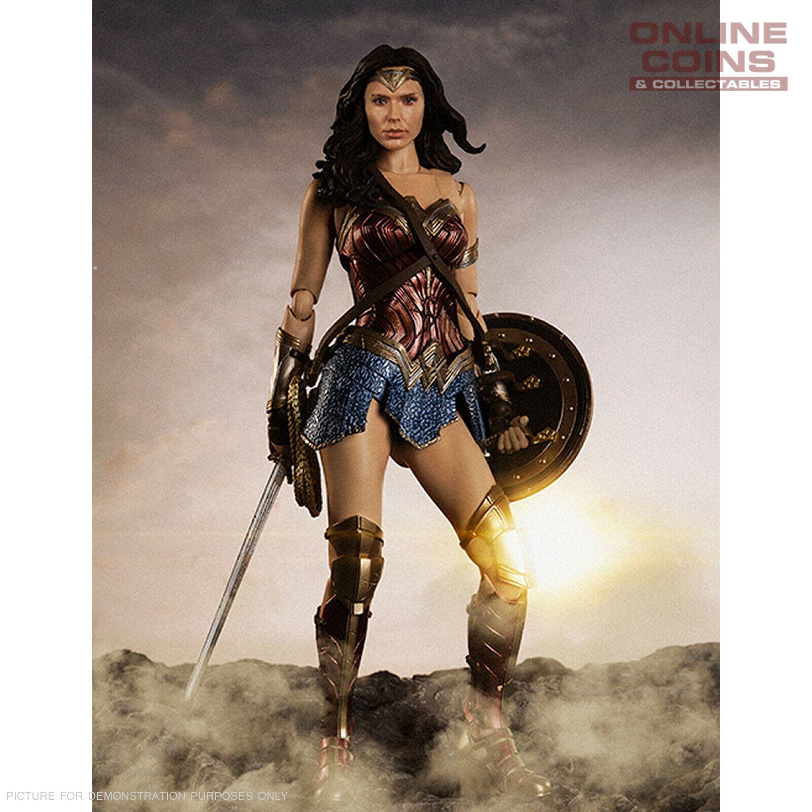 DC COMICS S.H. Figuarts Mujer Maravilla (Liga De La Justicia Figuras De)