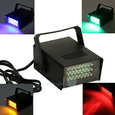 Mini DJ Strobe Light Flash Lamp Club Stage Lighting Party Disco 24 LED Bulb