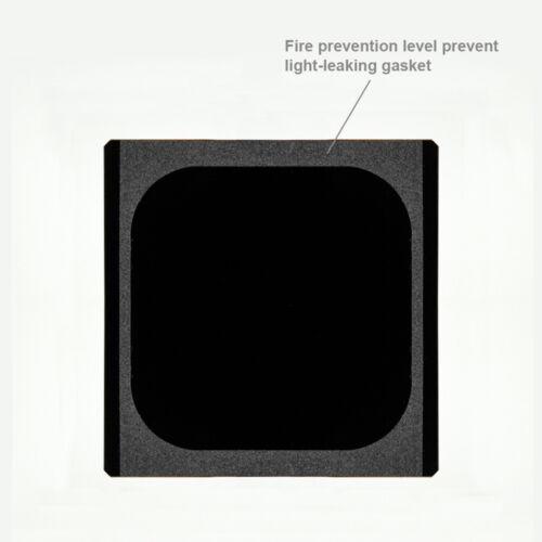 Nisi nano infrarrojos nd64 1.8 6 filtros stops filtro gris densidad neutra filtro 100x100mm