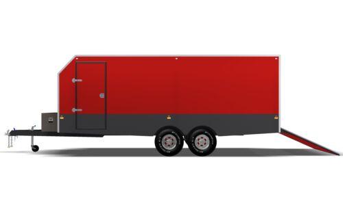 PRINTED HARDCOPY 6m ENCLOSED TRAILER PLANS 6 x 2.4 x 2m Trailer Plans