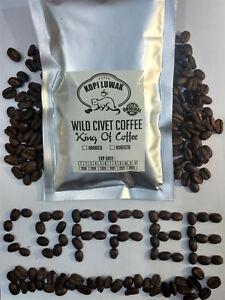 Kopi Luwak 100% Authentic Wild Civet Coffee Roasted Beans Fresh Halal