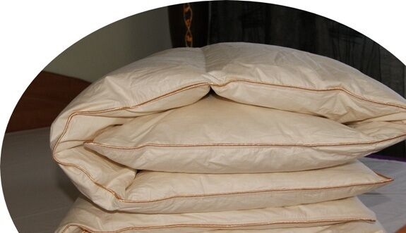Invierno plumón manta cama manta cama manta plumón cassettes 100% natural 155x200 cm relleno 1400 G de nuevo c5ce91
