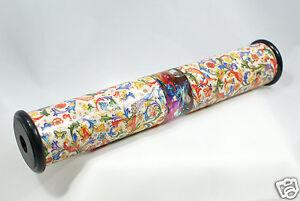 Flüssig - Kaleidoskop zweiseitige Einsicht, 23 cm Länge, Dekor Florentiner Blume
