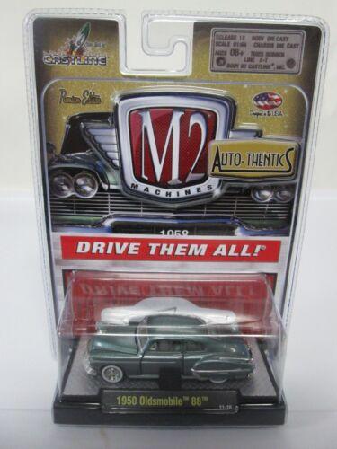 Machines M2 Auto Thentics 1950 Oldsmobile 88 Vert 11-16