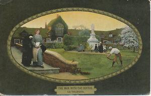 PC26518 The Man with the Scythe. La Thangue. Ettlinger. Royal. 1906