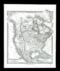 Map Of Texas 1835.C 1835 Samuel Walker Map North America United States Texas Mexico