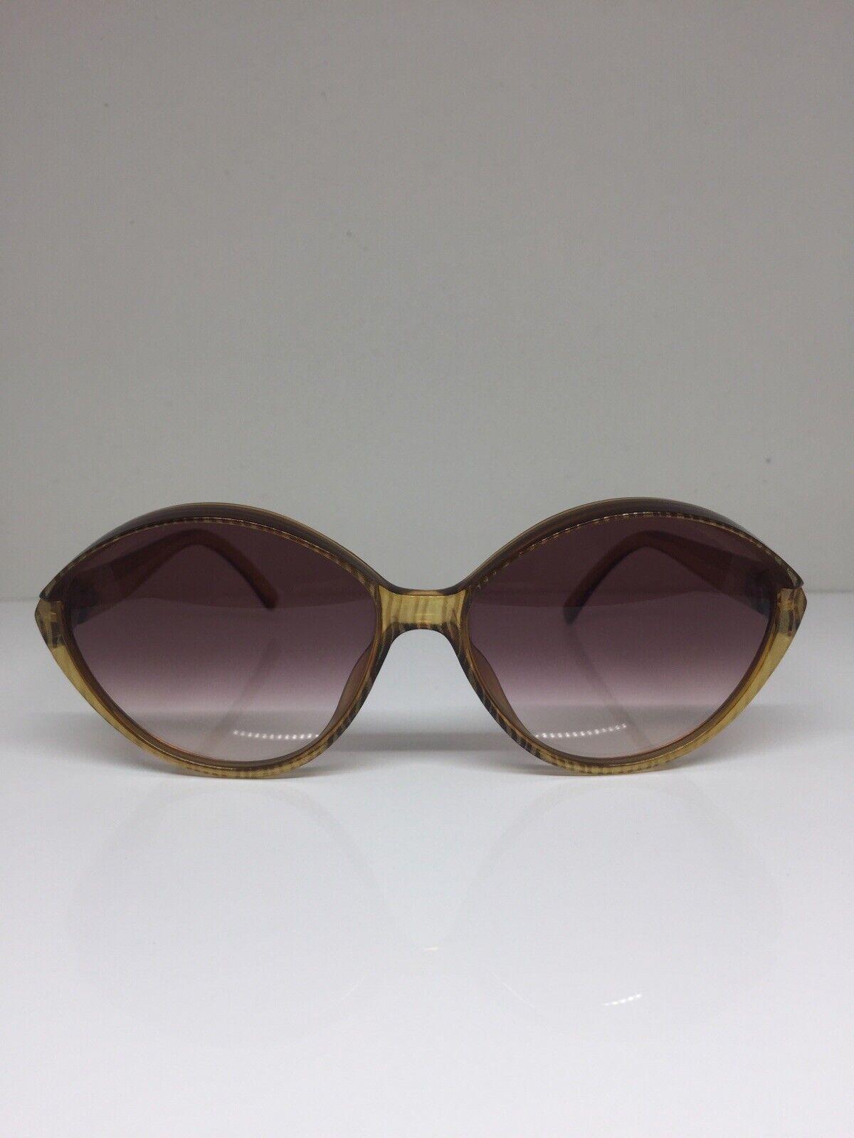 New Vintage Christian Dior CD 2180 Sunglasses C. 10 Translucent Brown Germany