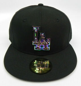LOS-ANGELES-DODGERS-MLB-NEW-ERA-59FIFTY-FRACTURED-FITTED-SIZE-7-1-2-HAT-CAP-NEW