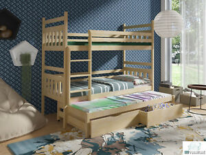 Etagenbett Dreifach : Bett ann etagenbett hochbett doppelstockbett kinderbett stockbett