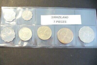 "Ensemble SÉrie Monnaie "" Swaziland "" Etat Neuf Sous Blister Goed Verkopen Over De Hele Wereld"