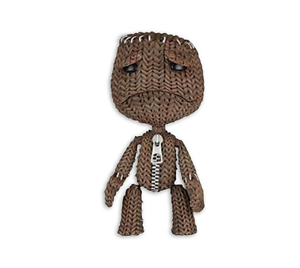 Little Big Planet Series 1 Sad Sackboy 7 inch Figure Neca
