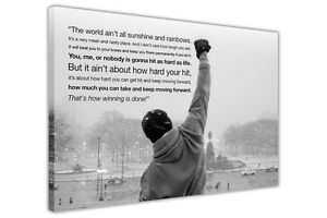 ROCKY-BALBOA-MOVIE-QUOTE-WALL-PICTURES-CANVAS-ART-PRINT-DECORATION-BOXING-SPORTS