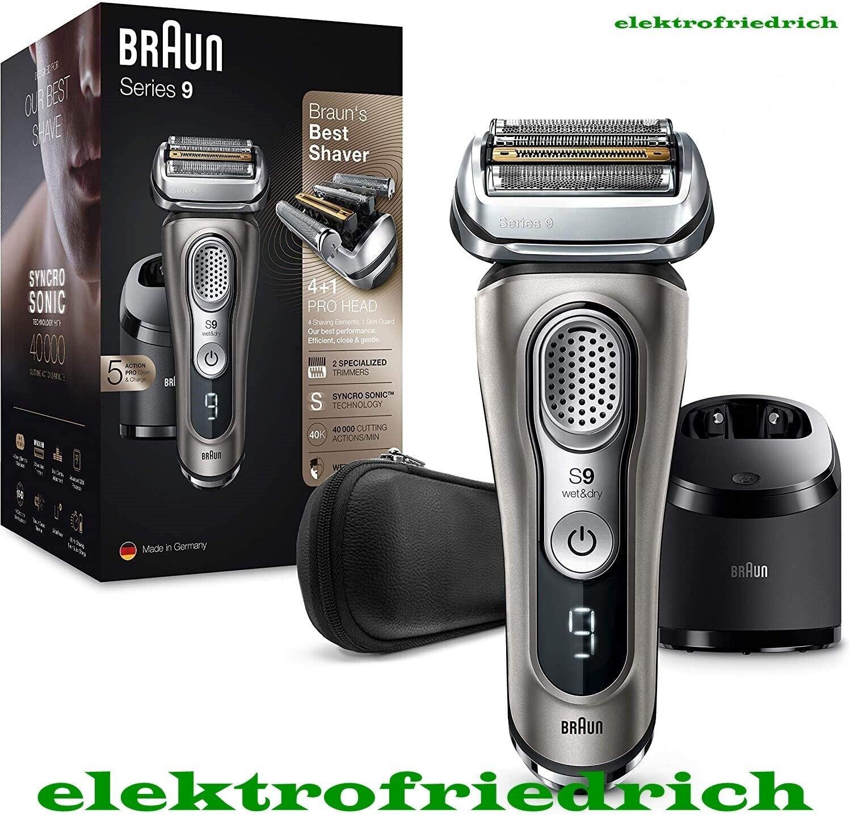 BRAUN Series 9 Rasierer 9385cc NeuOVP WetDry Reinigungsstation graphit 9385 cc