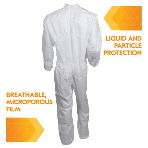 KleenGuard™ 44304 A40 Coveralls 1 Suit White XL