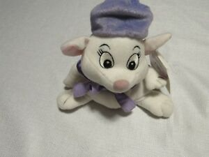 Astonishing Details About 8 Disney The Rescuers Bianca Mouse Beanie Baby Bean Bag Plush Soft Toy W Tag Customarchery Wood Chair Design Ideas Customarcherynet
