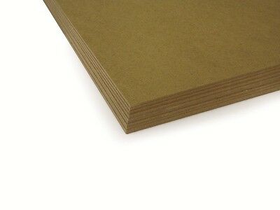 """MDF 2.8mm Backing Board Panel / Drawing, Painting Surface - 9 x 7"""" (Pack of 10)"""