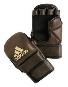 adidas-MMA-Boxhandschuhe-Boxen-Thai-Kickboxen-antik-braun